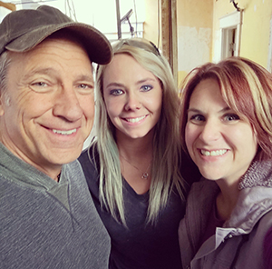 With Mike Rowe and Carlyn McClelland